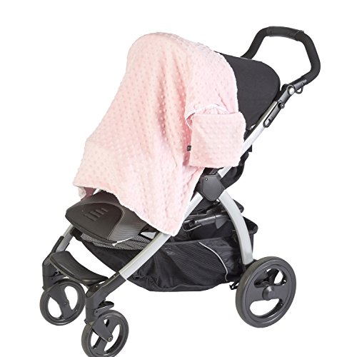 - J.L. Childress Cuddle 'N Cover Stroller Blanket, Pink