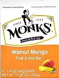 Monks' Walnut Mango Fruit & Nut Bars