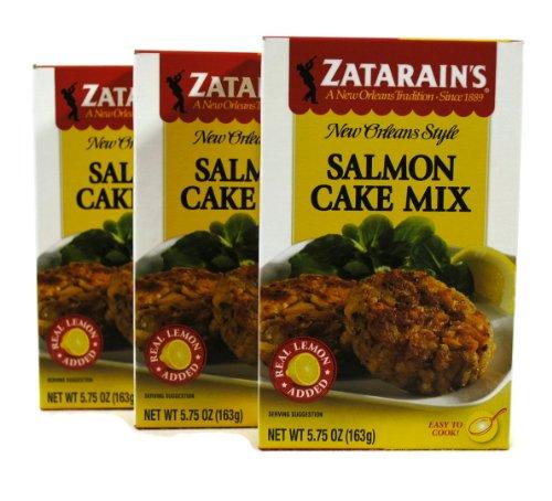 Zatarains New Orleans Style Salmon Cake Mix 5.75oz (Pack of ()