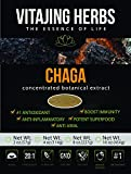 Chaga Mushroom Extract Powder (8oz-227gm) | 20:1 Concentration (No Fillers or Additives. Vegan, Wildcrafted, GMO Free, Gluten Free, Dairy Free, Nut Free)