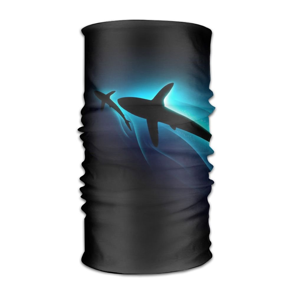 Magic Headwear Shark Sea Outdoor Scarf Headbands Bandana Mask Neck Gaiter Head Wrap Mask Sweatband