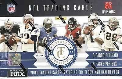 2011 Panini Totally Certified Football Factory Sealed Hobby Box Cardshark - Panini Certified - Sports - Football 2011 Cards