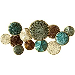 Stratton Home Decor Multi-Plates Wall Decor, Multicolor