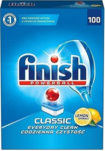 Finish Powerball Pastillas clásicas para lavavajillas (100 ...