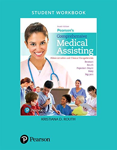 Student Workbook for Pearson's Comprehensive Medical Assisting: Administrative and Clinical Competencies