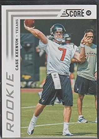big sale eb570 d1f72 2012 Score Case Keenum Texans Rookie Football Card #311 at ...