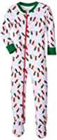 New Jammies Little Boys' Holiday Organic Cotton Footie Pajamas