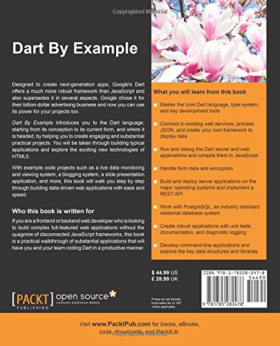 Dart By Example: Davy Mitchell: 9781785282478: Amazon com: Books