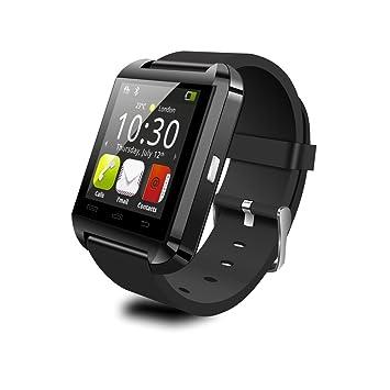 Geeko Reloj Inteligente Smart Watch U8 Negro