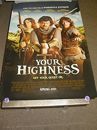 YOUR HIGHNESS/ORIG.U.S. ONE SHEET MOVIE POSTER(JAMES ...