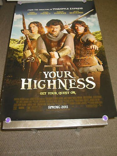 Your Highnessorigus One Sheet Movie Posterjames Franconatalie