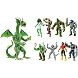 Marvel Legends Hulk Set of 8 Fin Fang Foom