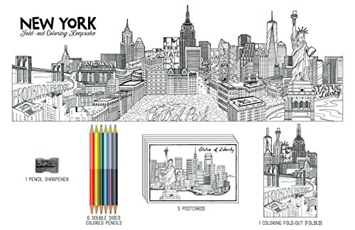 Bendon NYC Fold Out Coloring