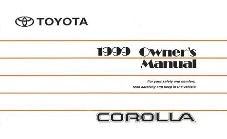amazon com bishko automotive literature 1999 toyota corolla owners rh amazon com 1999 toyota corolla owners manual pdf 1999 toyota corolla service manual