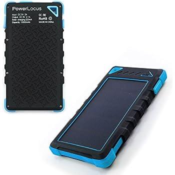 Amazon Com Powerlocus Solar Power Bank For Iphone Android
