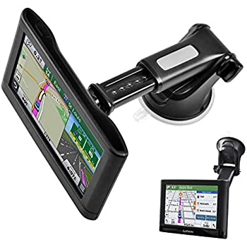 GPS Suction Cup Mount for Garmin [Quick Extension Arm], Replacement GPS  Dash Ball Mount Dashboard Windshield Car Holder for Garmin Nuvi Dezl Drive