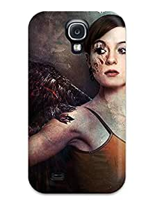 Galaxy S4 Angel Print High Quality Tpu Gel Frame Case Cover