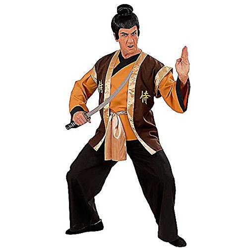 Mens Samurai Warrior Costume Medium Uk 40/42