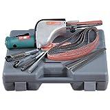 Dynabrade 14010 Dynafile Abrasive Belt Tool Versatility Kit, For 1/8-Inch - 1/2-Inch Width x 24-Inch Length Belts