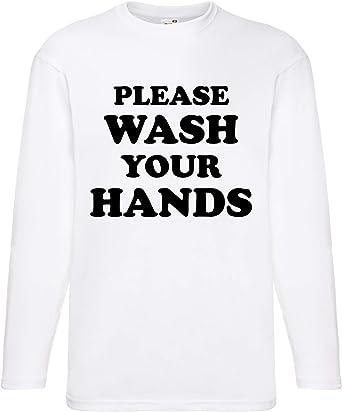 Camiseta de manga larga, unisex, diseño con texto en inglés ...