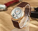 SunShine Day Hot Fashion Women Dress Watch Leather Strap Watches Female Fashion Quartz Wristwatch Casual Clock Qz4066