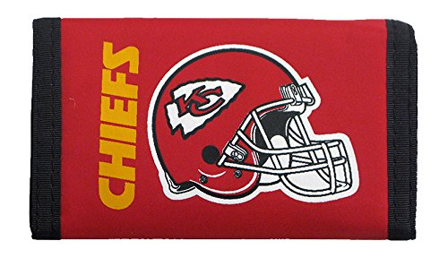 NFL Kansas City Chiefs Nylon Trifold - Mall Kc