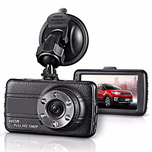 GZDL Full HD 1080P Mini Dash Cam Car Blackbox Car DVR Dashboard Camera Vehicle Camera Front G-Sensor Motion Detection Loop Video Recorder Night Vision by GZDL