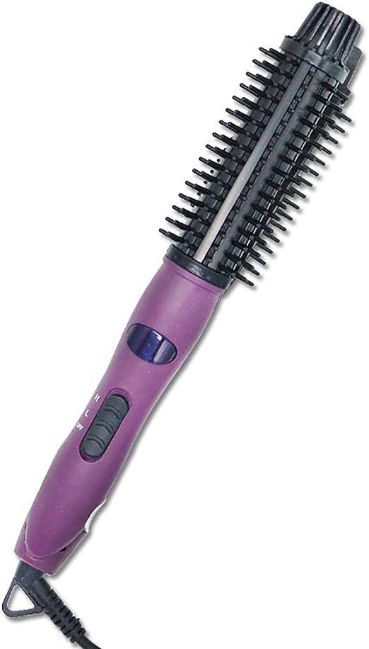 Rizador de pelo Rollo recto Peine de pelo liso doble uso Anti ...
