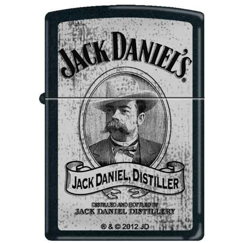 Used, Zippo Custom Lighter - Jack Daniel's Whiskey Cameo for sale  Delivered anywhere in USA