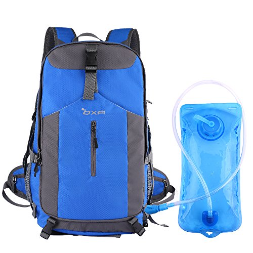 Water Bladder Bag Backpack Hydration Pack Hiking Camping 2L Blue - 4
