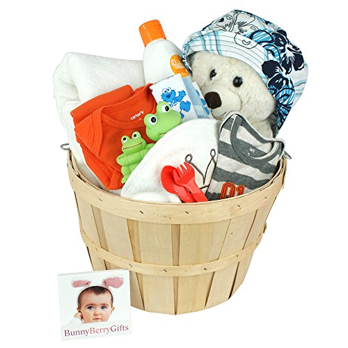 Wet N Wild Baby Boy Gift Basket by Bunnyberry Gifts