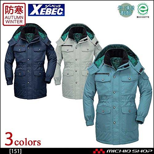 ジーベック 防寒コート 151 作業服 B07BJZSHZR 3L|10コン 10コン 3L