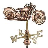 Good Directions Motorcycle Weathervane