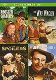 4 Classic John Wayne Westerns : (Rooster Cogburn / The War Wagon / The Spoilers (1942) / Shepherd of the Hills)