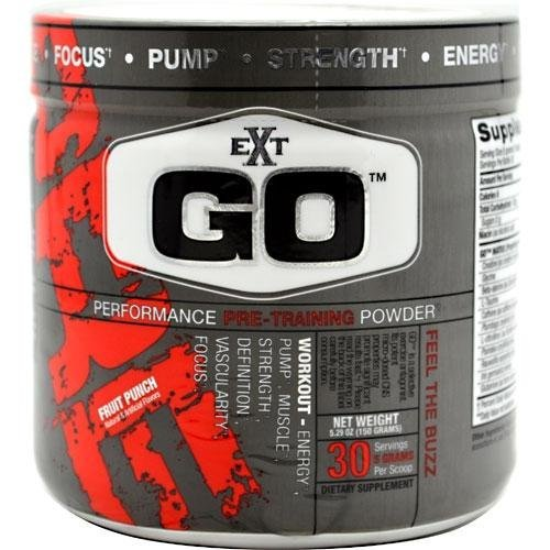 EXT GO performance pré-formation de fruits en poudre Punch - 5.29 oz