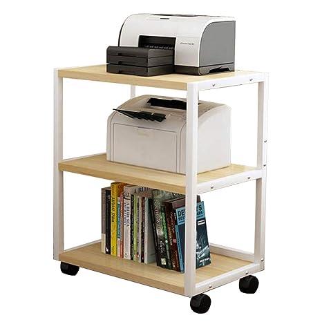 Estante para impresora de piso soporte de impresora móvil ...