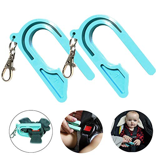 Child Car Seat Key 2 Pack Belt Unbuckler Easy Unbuckle Release for Kids Caregivers Caretakers to Unbuckle