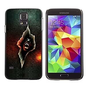 "For Samsung Galaxy S5 , S-type Vampire crack"" - Arte & diseño plástico duro Fundas Cover Cubre Hard Case Cover"