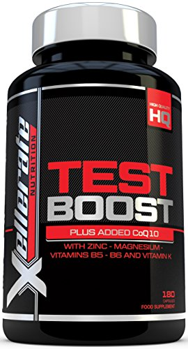 Test Boost for Men - 180 Capsules Testosterone Support Supplement -...