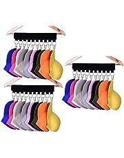 Cap Organizer Hanger, 10 Baseball Cap Holder, Hat Organizer for Closet - Change Your Cloth Hanger to Cap Organizer Hanger - Keep Your Hats Cleaner Than a Hat Rack
