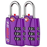 Forge TSA Lock Purple 2 Pack - Open Alert