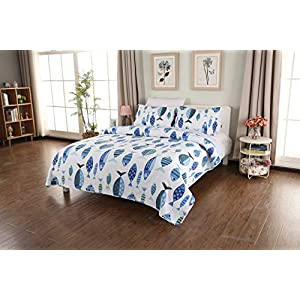 51FQwuOjkzL._SS300_ Coastal Bedding Sets & Beach Bedding Sets