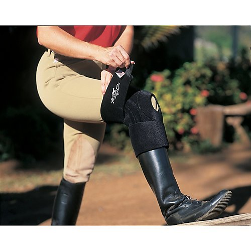 Professionals Choice Miracle Knee Support (Standard, Black) (Sports Choice Medicine)