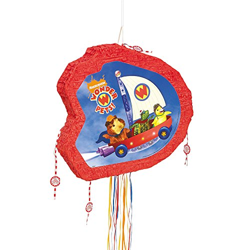 Unique Wonder Pets Pinata, Pull String