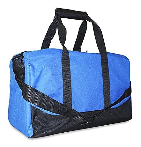 Sports Duffle Bag Small Blue - Black Label Duffel