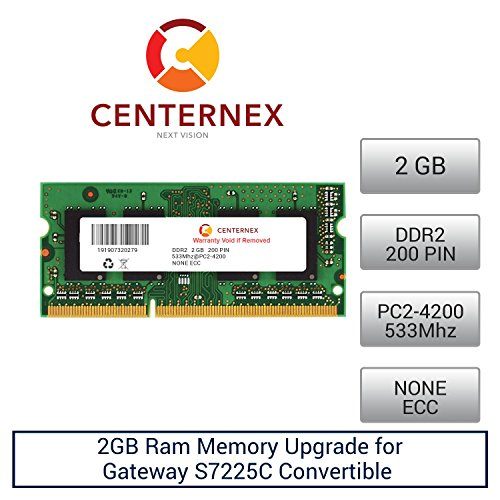 2GB RAM Memory for Gateway S7225C Convertible (DDR24200) ...