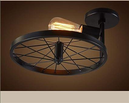Plafoniere Con Ferro Battuto : Eeayyygch lampade da soffitto in ferro battuto country americano