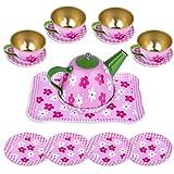 INNOCHEER Pretend Tea Party Set for Little