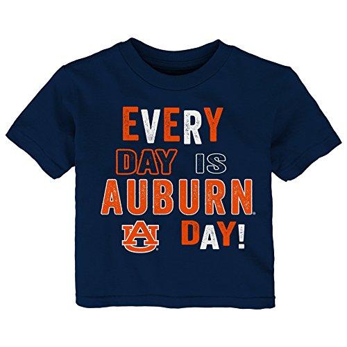 (Gen 2 NCAA Auburn Tigers Toddler Everyday Short Sleeve Tee, 3T, Dark Navy)