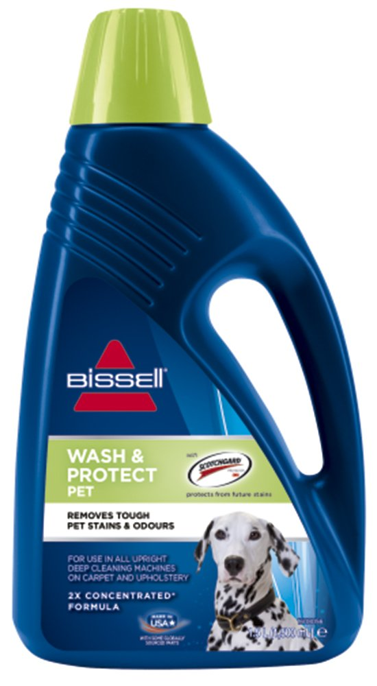 Bissell Wash & Protect Pet 1087 N Shampoing Moquette, 1,5 l 1087N